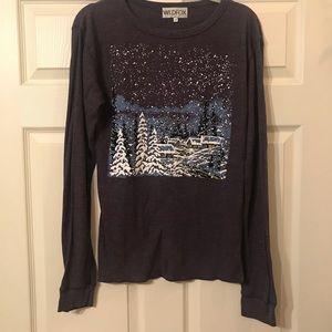 Wildfox Tops - Wildfox Cozy Cabin Thermal